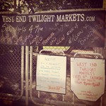 Second market for today!! At the #westendtwilightmarkets!